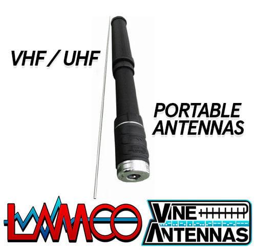 VHF UHF PORTABLE ANTENNAS