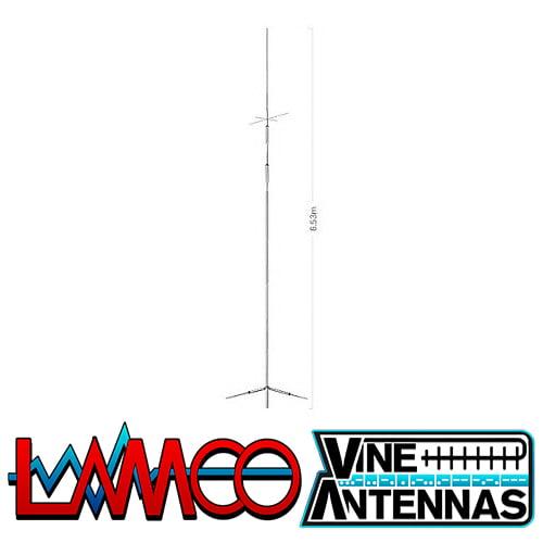 Diamond CP-8040 | Dual Band HF Vertical Antenna | LAMCO Barnsley