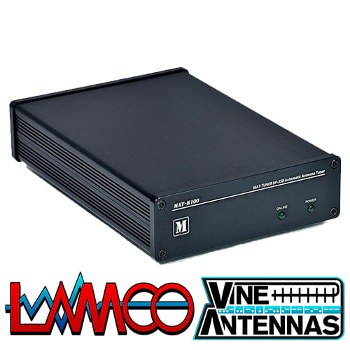 mAT-K100 | Automatic ATU Both ICOM & Kenwood Cables Are Inluded FOC | LAMCO Barnsley