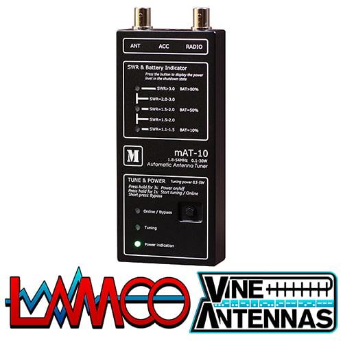 mAT-10 | QRP Automatic Antenna Tuner | LAMCO Barnsley