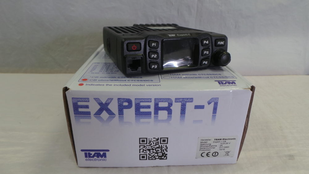 Team Expert 1 CB Radio USED 12 Months Warrranty LAMCO Barnsley