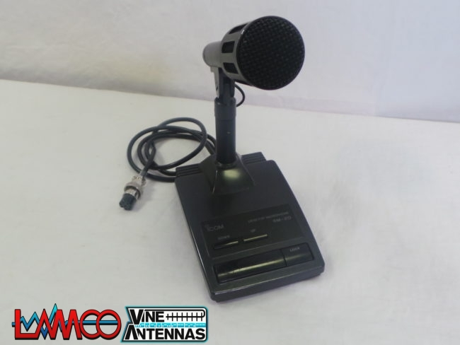 ICOM SM-20 Desktop Microphone USED | 12 Months Warranty | LAMCO Barnsley