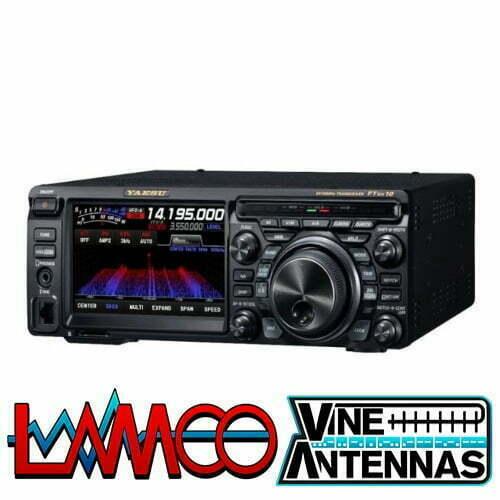 Yaesu FT-DX10 HF/50/70Mhz | Three Years Warranty | LAMCO Barnsley