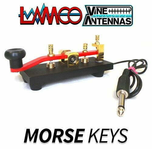 MORSE CODE KEYS AND PADDLES