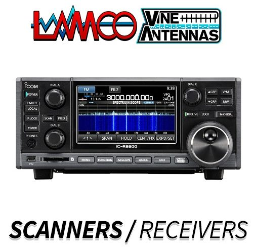 SCANNERS + RECEIVERS