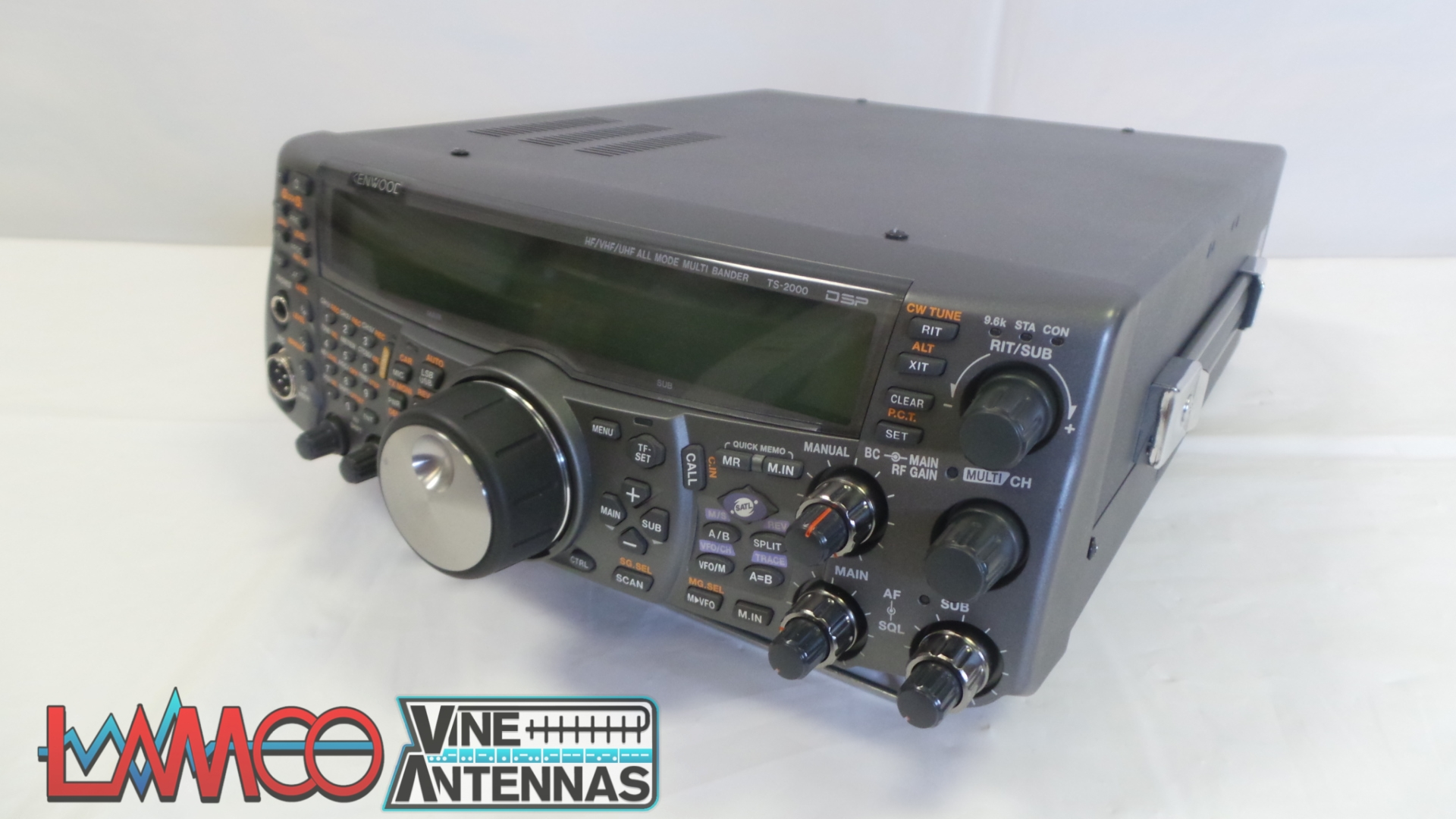 Kenwood TS-2000X inc 23cms USED | 12 Months Warranty | LAMCO Barnsley