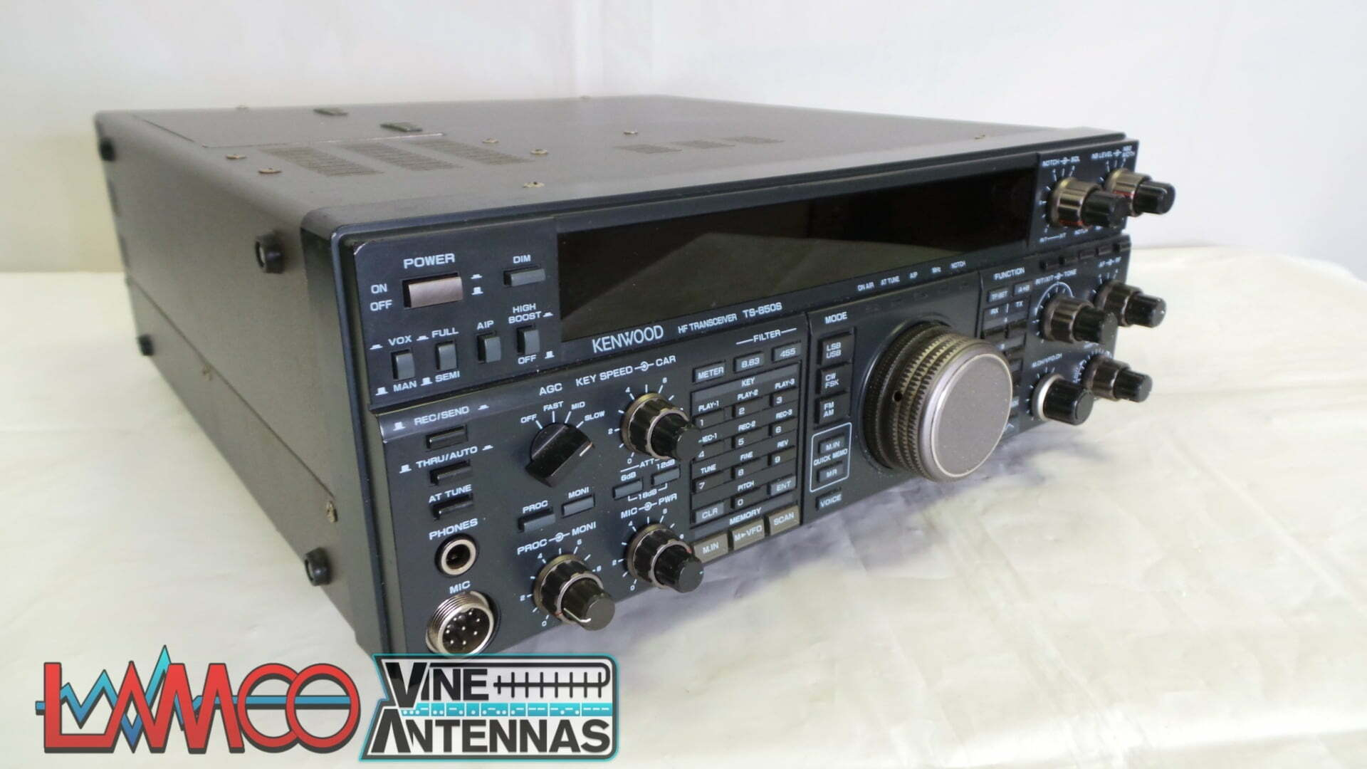 Kenwood TS-850 Sold As Seen No Warranty Use As Spares or Repairs Junksale Barnsley