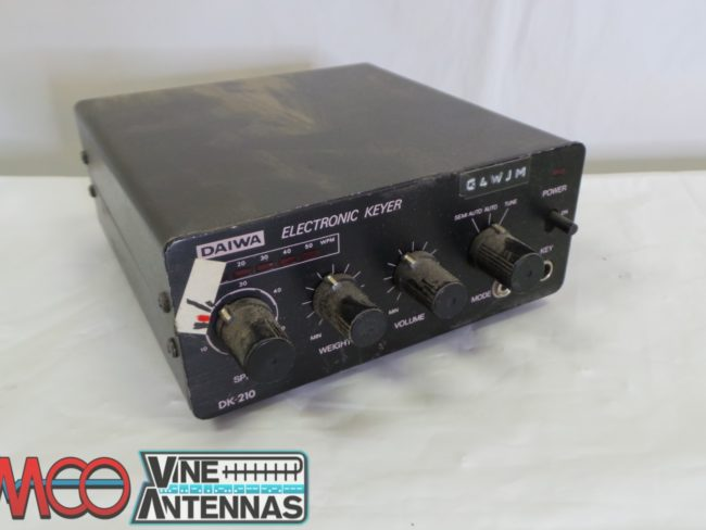Daiwa Electronic Keyer Sold As Seen No Warranty Use As Spares or Repairs Junksale Barnsley