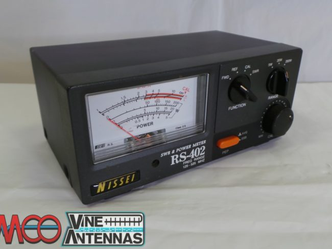 Nissei RS-402 PWR/SWR Meter USED 12 Months Warranty LAMCO Barnsley