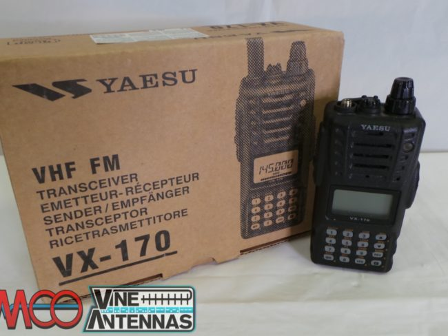 Yaesu VX-170 VHF Hand Set USED 12 Months Warranty LAMCO Barnsley