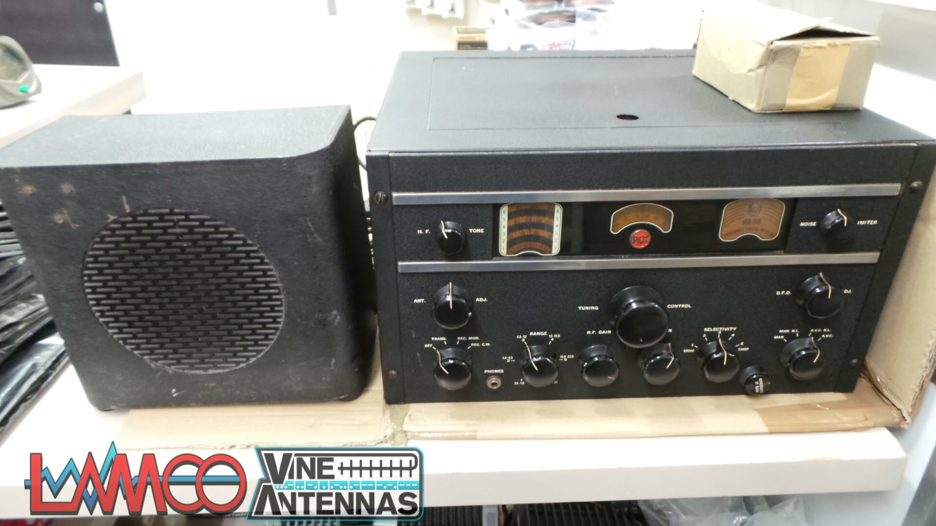 RCA R-88 HF Receiver Sold As Seen No Warranty Use As Spares or Repairs Junksale Barnsley