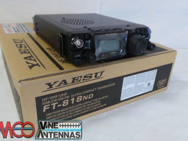 Yaesu FT-818ND Used Twelve Months Warranty LAMCO Barnsley
