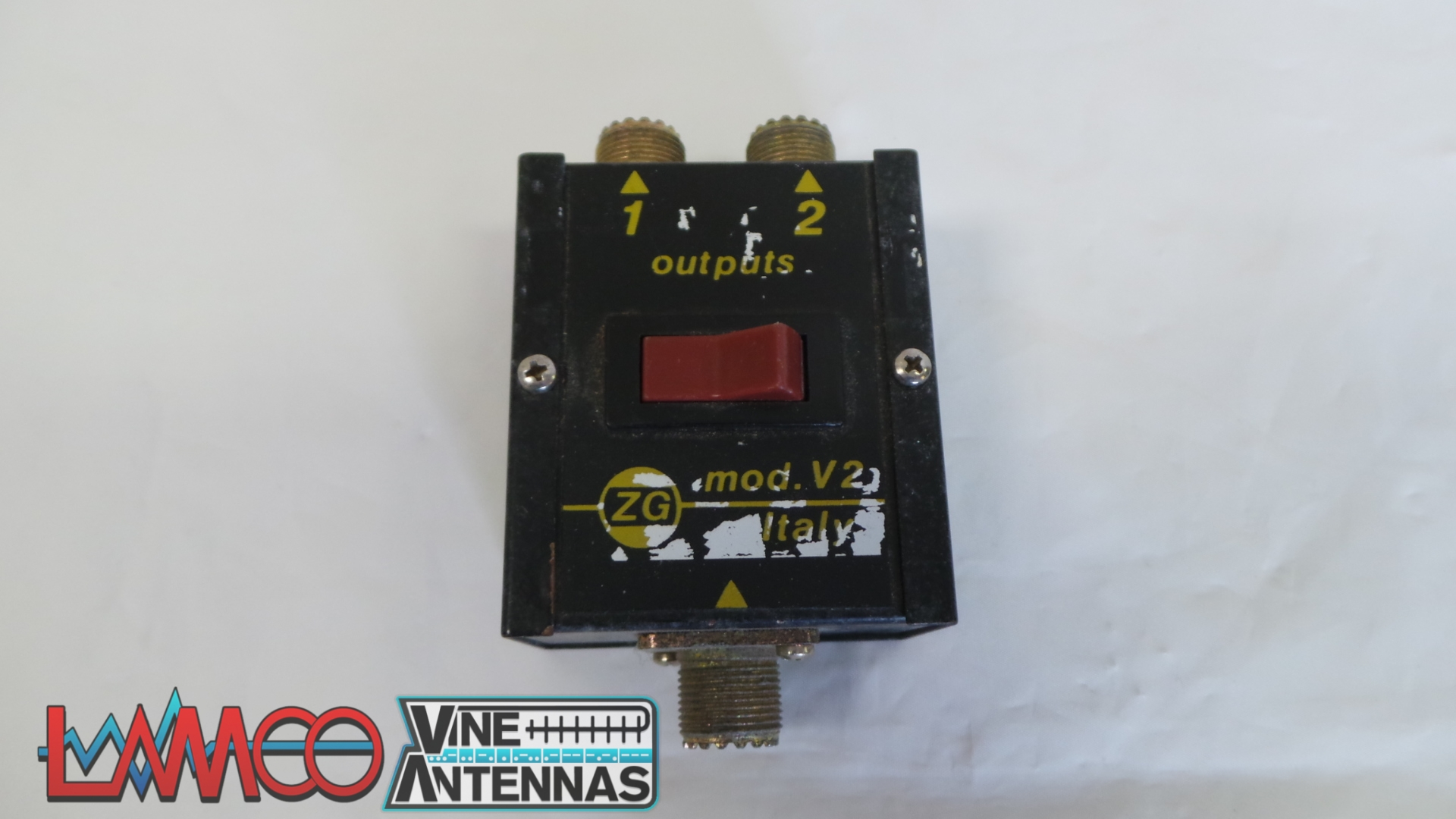Zetagi Antenna Switch Sold As Seen No Warranty Use As Spares or Repairs Junksale Barnsley